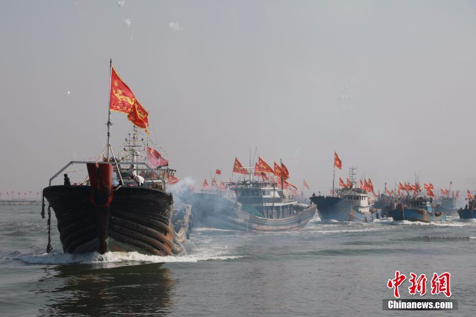 盘锦第二届二界沟开海节再现独特古渔雁文明