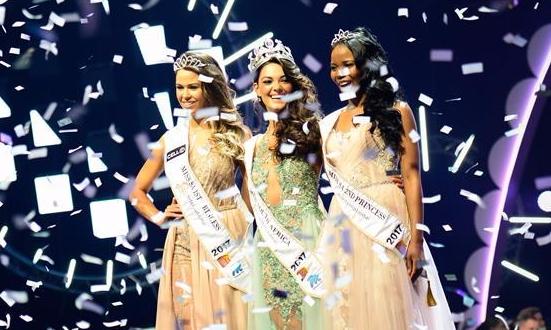 21岁女孩当选2017年南非小姐