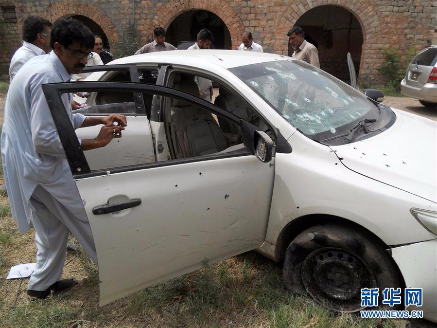 巴基斯坦警察遭袭6人死亡