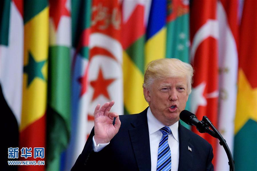 特朗普表示美国愿帮助中东地区国家反恐