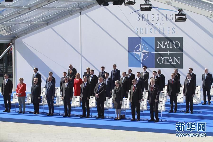 北约峰会在布鲁塞尔举行