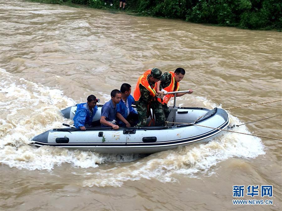 暴雨致湖北咸宁4万余人受灾