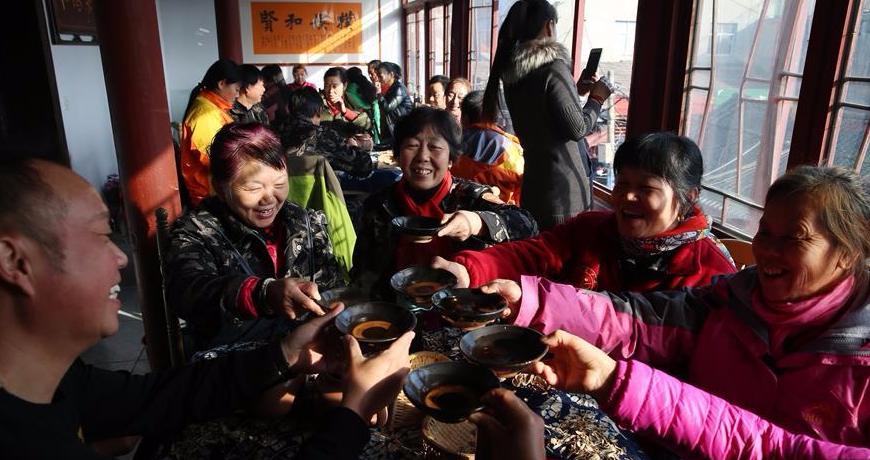 千年古镇老茶馆 品味悠闲慢时光
