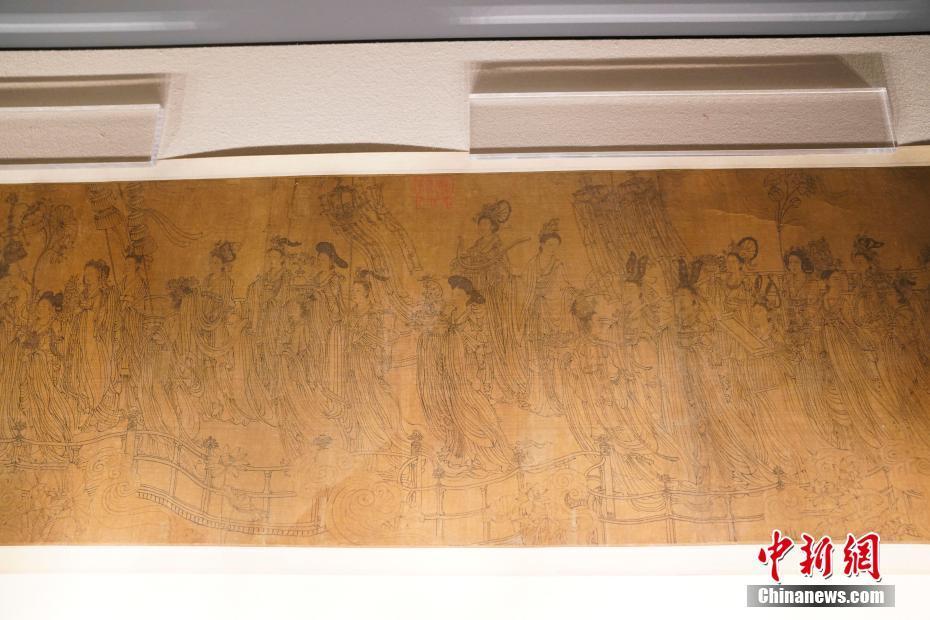 《八十七神仙卷》真迹首次全卷展出