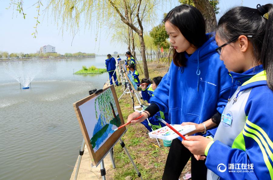 温岭:乡村河道入画来