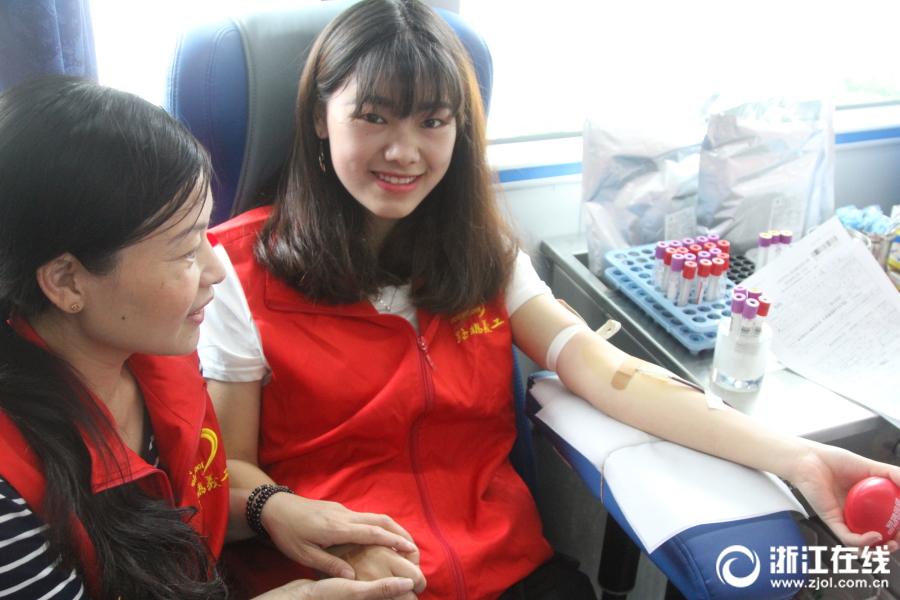 路桥:无偿献血献爱心