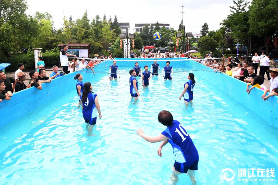 台州:生态公园 戏水游玩
